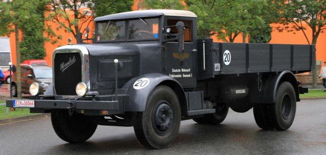 Грузовик Henschel 6-J1