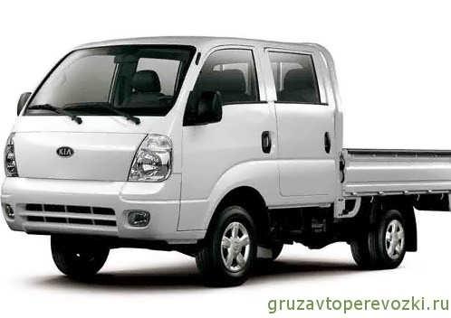 грузовик киа бонго с двойной кабиной