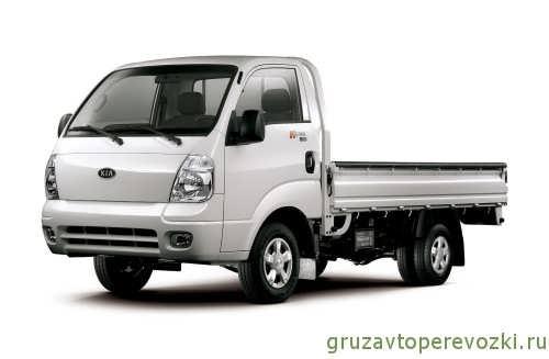 грузовик киа бонго с одинарной кабиной