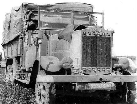 Грузовик Krupp L-3H-163