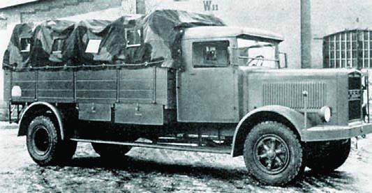 Грузовик MAN F-1H6