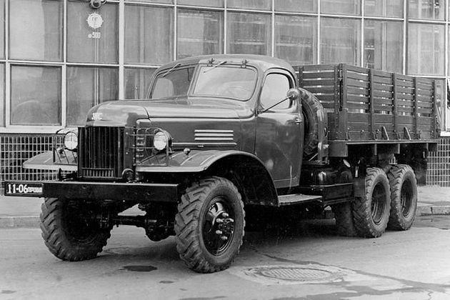 Грузовик с советским ноу-хау авто, зис, зис-151, советский автопром