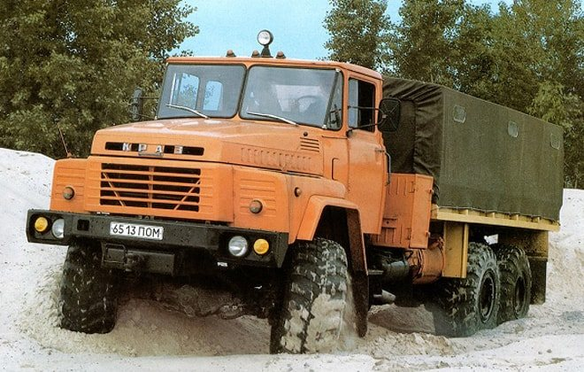 Грузовое авто Kraz-260