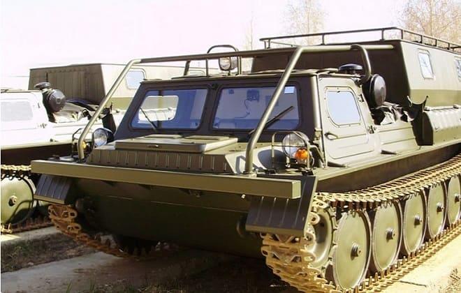 Гусеницы снегоболотохода ГАЗ-34039