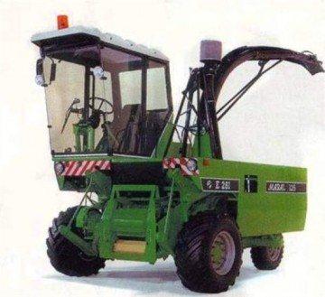 Характеристики, особенности и устройство комбайна Е-281 (Марал-125)