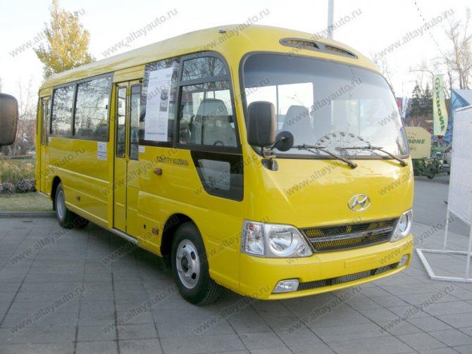 Hyundai County Long (2 двери) - город - Hyundai - Автобусы
