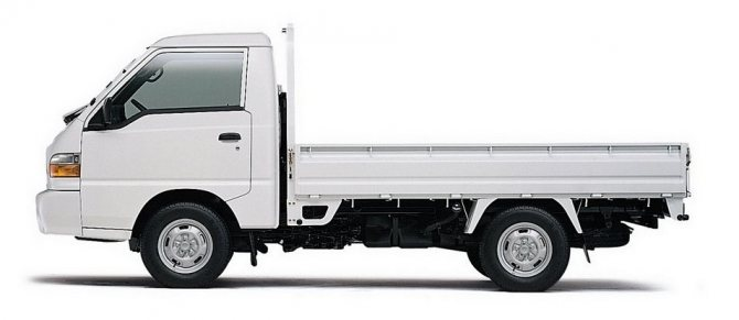 Hyundai Porter: вид сбоку