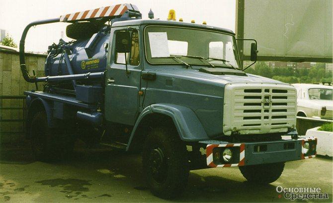 Илососная машина КО-510 (шасси ЗИЛ-433362)