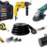 Инструменты и материалы для модернизации
