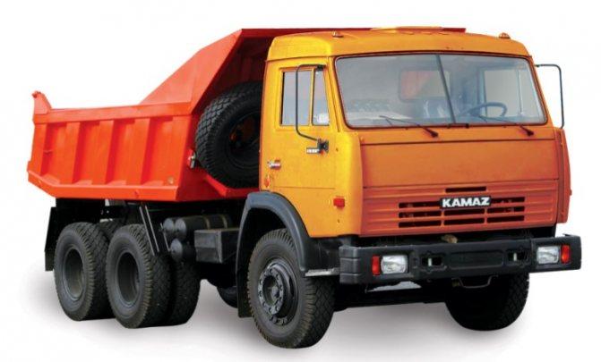 Изображение грузового самосвала 55111