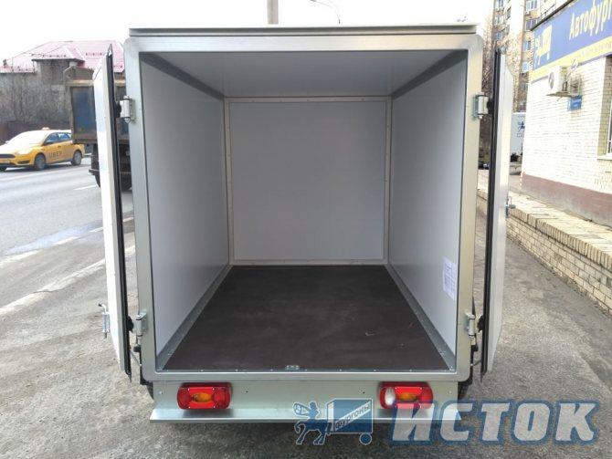 Изотермический «сэндвич» фургон - объем 3,5 м3