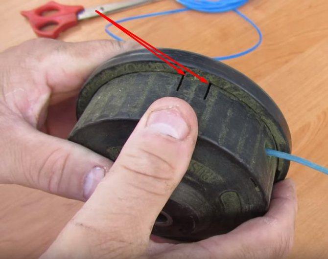 Как правильно намотать леску на катушку триммера
