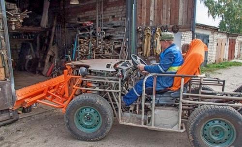 Как сделать минитрактор своими руками. Выбор двигателя для самодельного трактора
