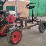Как сделать самодельный-трактор с двигателем от мотоблока. Преимущества минитрактора