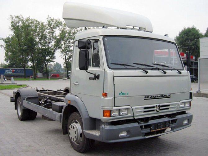 КамАЗ-4308 Устройство