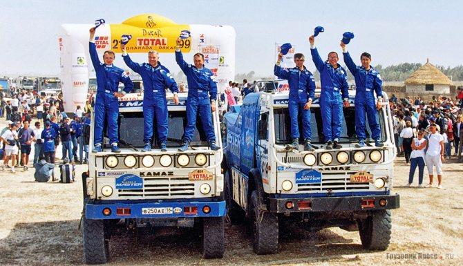 КамАЗ-49252, Granada–Dakar, 1999 г.