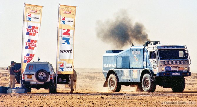 КамАЗ-49252, Париж – Дакар – Каир, 2000 г.