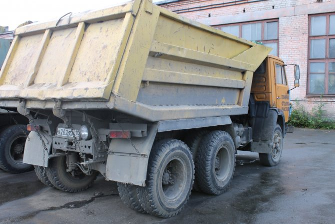 КамАЗ-55111 Кузов