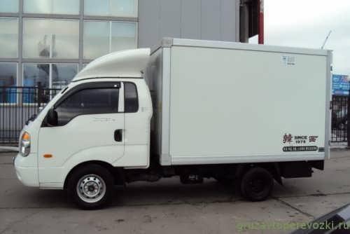 киа бонго фургон