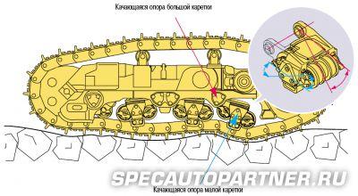 Komatsu D375A-5 бульдозер гусеничный
