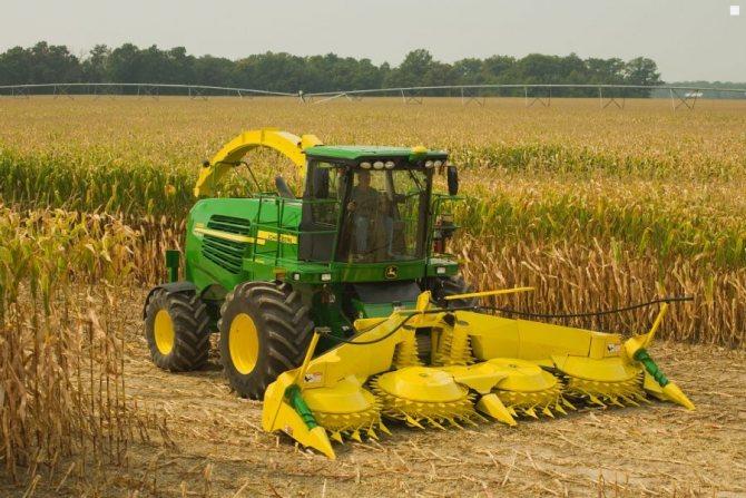 Комбайны для уборки кукурузы