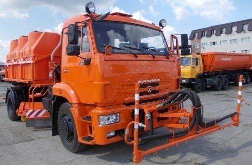 Комбинированная дорожная машина МКДС-4505 (МКДС-44105)
