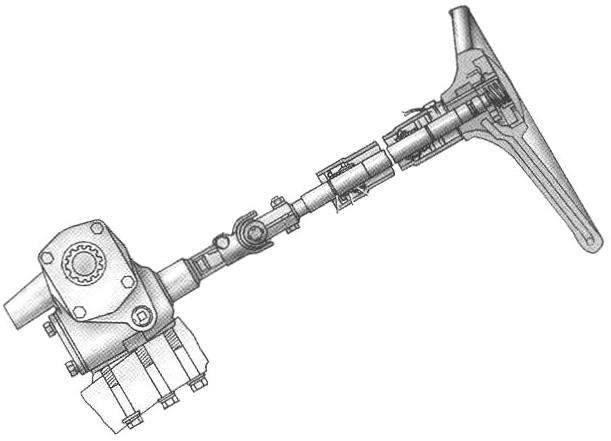 Конструкция рулевого механизма автомобиля УАЗ-3151