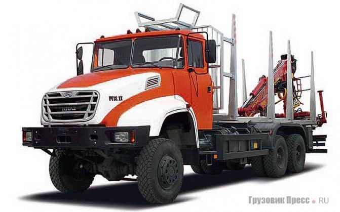 КрАЗ-6233Н6, Kraz M18.1X