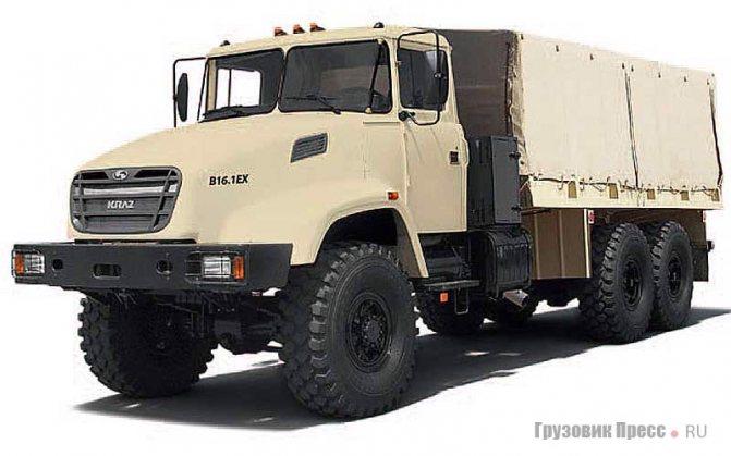 КрАЗ-6322, Kraz B16.1EX