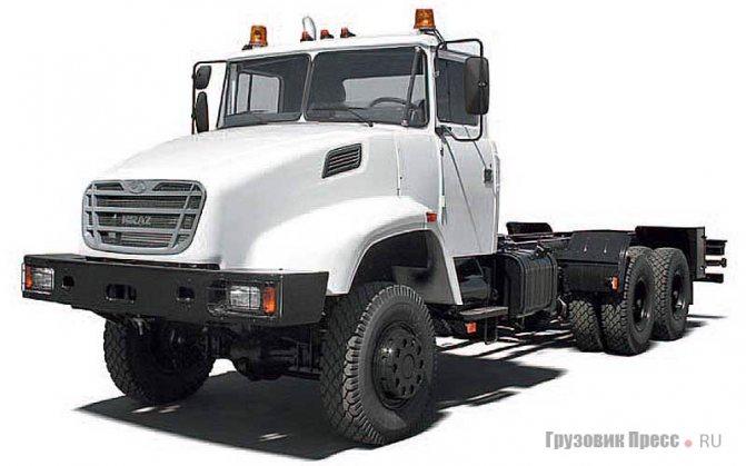 КрАЗ-63221, Kraz Н20.1Х