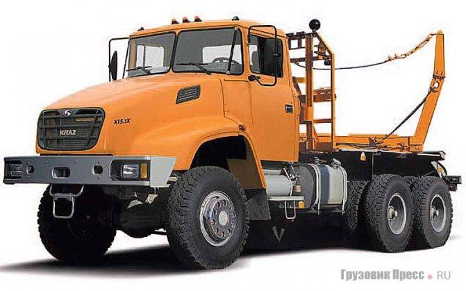КрАЗ-64372, Kraz X15.1X