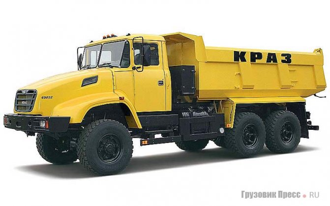 КрАЗ-65032, Kraz С15.1ЕХ