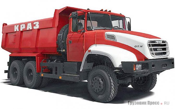 КрАЗ-65032, Kraz С17.1Х