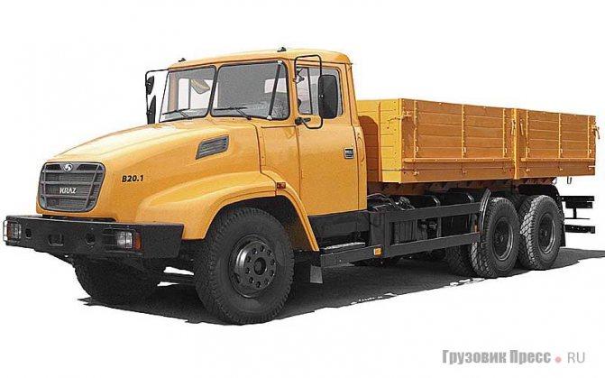 КрАЗ-65053, Kraz B20.1