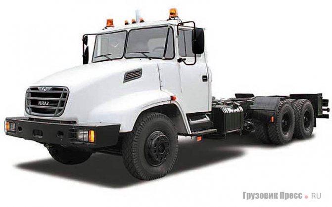 КрАЗ-65053, Kraz Н22.1