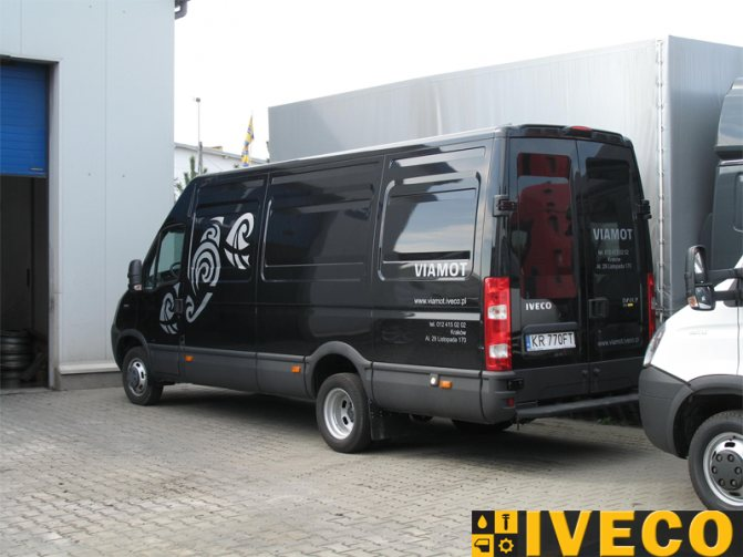 Купить грузовой микроавтобус-фургон ИВЕКО ДЕЙЛИ 35C15V h4 3.0HPT в Киеве по лучшей цене. Фото, характеристики, цена, стоимость Iveco Daily 35C15V в Украине