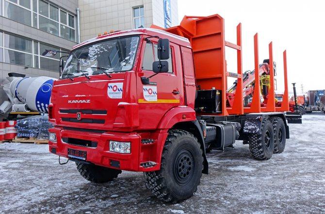 Лесовоз сортиментовоз КАМАЗ 43118 от официального дилера в Красноярске