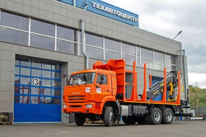 Лесовоз сортиментовоз КАМАЗ 65111 от официального дилера в Красноярске