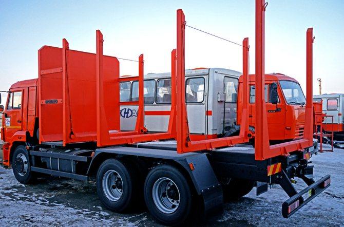 Лесовоз сортиментовоз КАМАЗ 65115 от официального дилера в Красноярске