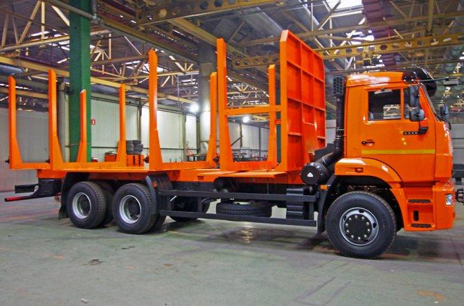 Лесовоз сортиментовоз КАМАЗ 6520 от официального дилера в Красноярске