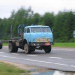 Лесовозный автомобиль