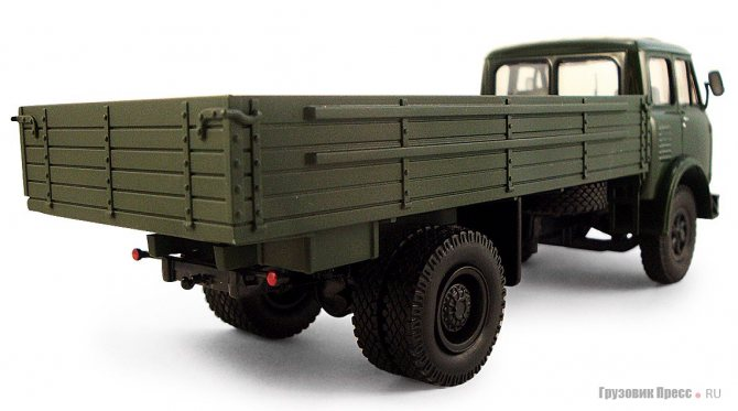 МАЗ-500А образца 1968 года