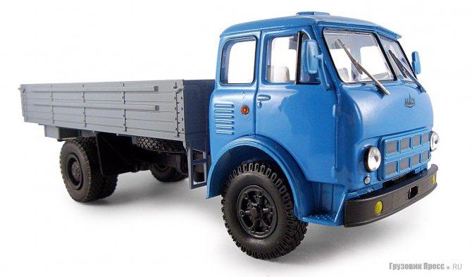 МАЗ-500А образца 1970 года