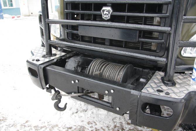 Механическая лебедка «ГАЗ-66» для самоэвакуации