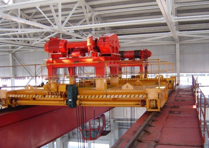 Механизмы мостового крана