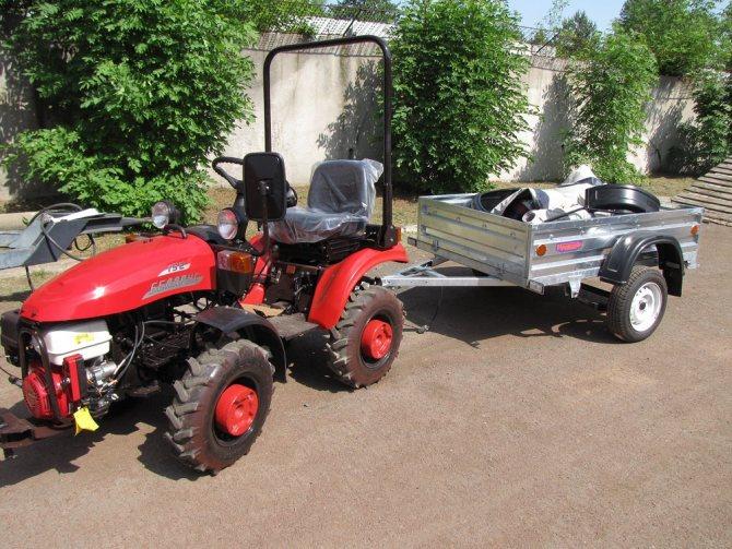Мини трактор МТЗ-152 Беларус