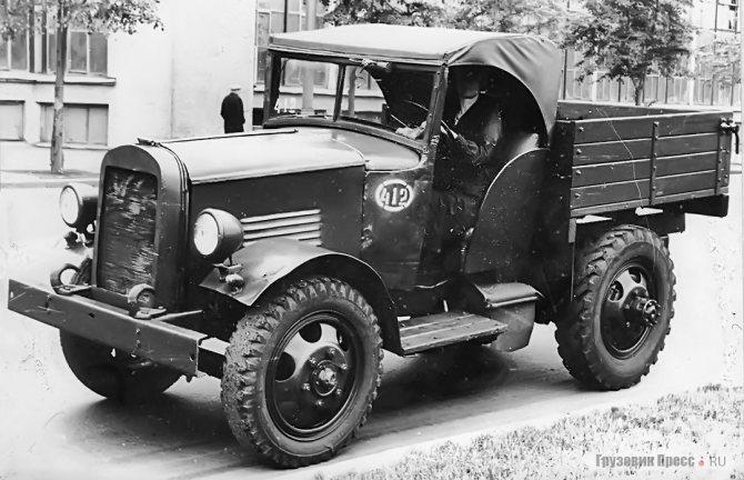 Мини-тягач, созданный на ЗИЛе, пришёл на смену газовской машине