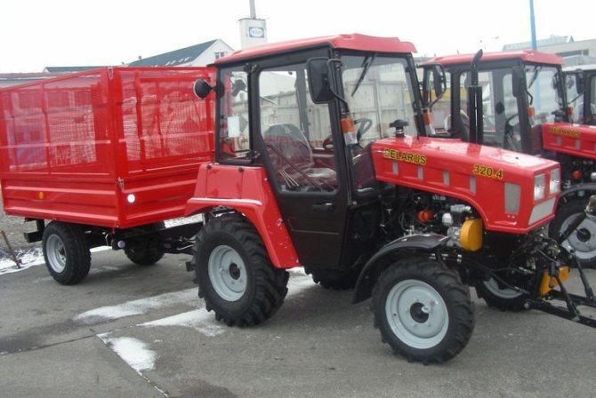 Минитрактор Беларус 320