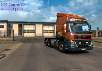 Мод Volvo FM Classic версия 03.08.18 для Euro Truck Simulator 2 (v1.31.x, 1.32.x)