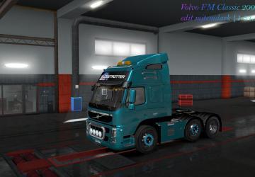 Мод Volvo FM Classic версия 25.02.19 для Euro Truck Simulator 2 (v1.32.x, - 1.34.x)